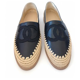 Chanel-Espadrilles Chanel-Black