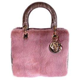 Dior-LADY DIOR-Pink,Dark grey