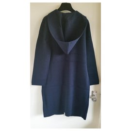 Céline-New with tag Céline cardi-coat in size M.-Navy blue