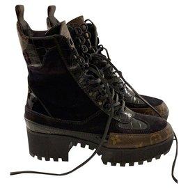 Louis Vuitton-Désert boots-Multicolore