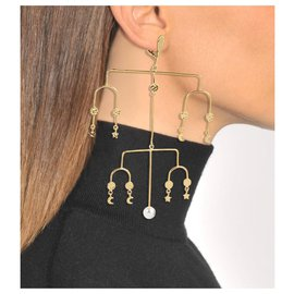 Aurelie Bidermann-Earrings-Golden