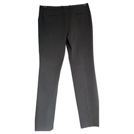 Céline-Wonderful Céline pants t 42 gray cotton like new-Dark grey