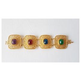 Givenchy-Armbänder-Mehrfarben ,Golden