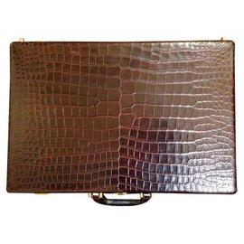 Hermès-Travel bag-Brown