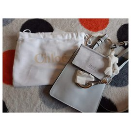 Chloé-Mini faye-Light blue