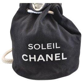 Chanel-Chanel Soleil Bucket-Black