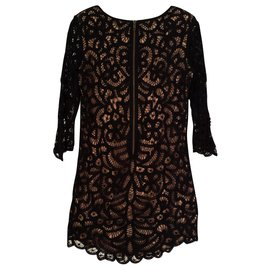 The Kooples-Short dress-Black