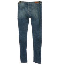 Reiko-Jeans-Bleu Marine
