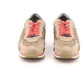 Autre Marque-Sneakers-Beige