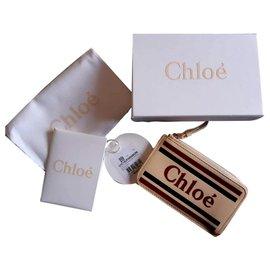 Chloé-Vick card holder-Pink