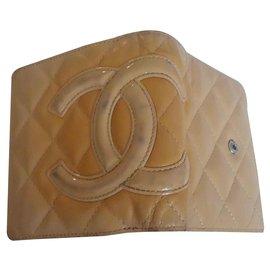 Chanel-Chanel Cambon wallet-Beige