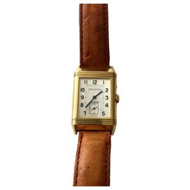 Jaeger Lecoultre-Collection Duo Reverso-Doré