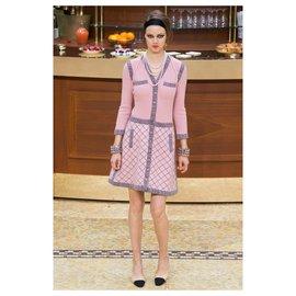 Chanel-Chute de piste 2015-Rose,Multicolore