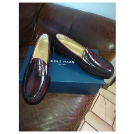 Cole Haan-Church´s Loafers-Dark red