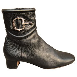 f0535b96b4b Gucci-bottines Gucci à boucle de cheville-Noir ...