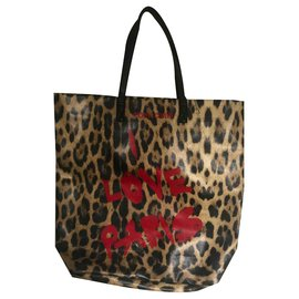 Roberto Cavalli-Sacs à main-Imprimé léopard