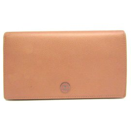 Chanel-Chanel Pink Calf Leather Wallet-Pink
