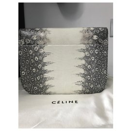 Céline-MEDIUM CLASSIC BAG IN LIZARD CLASSIC BOX-Multiple colors