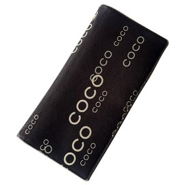 Chanel-Portfolio chanel coco limited edition-Black,Dark brown