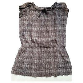 Bonpoint-Bonpoint - Robe d'été-Gris,Violet