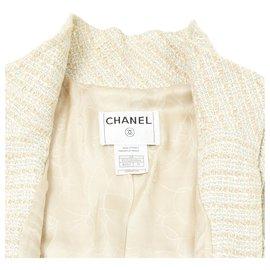 Chanel-SUMMER TWEED FR38-Écru