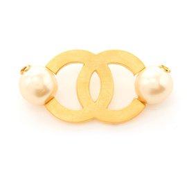 Chanel-MAXI CC MEGA PEARLS-Golden