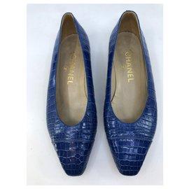 Chanel-Ballerinas-Blue