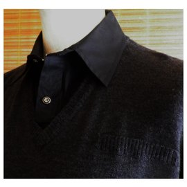 Karl Lagerfeld-LAGERFELD sweater size M perfect condition-Dark grey