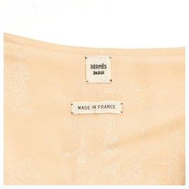 Hermès-BEIGE SILK FR40-Beige