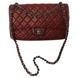 Chanel-TIMELESS-Dark red