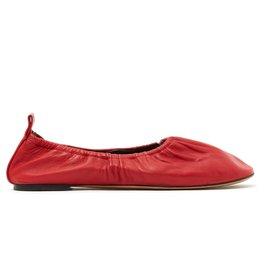 Céline-SOFT BALLERINA FR38 RED-Red