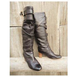 Chloé-high boots Chloé-Black