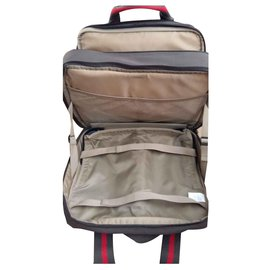 Autre Marque-Fun and basics Trolley cabin luggage-Khaki