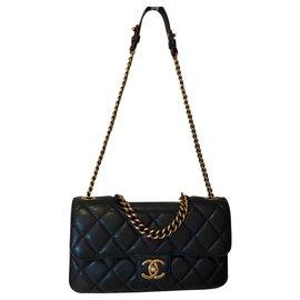 Chanel-Classic CHANEL-Blue,Navy blue,Dark blue