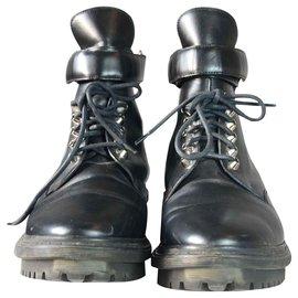 Balenciaga-Boots Balenciaga-Noir