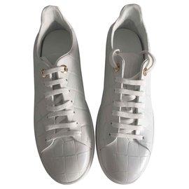 Louis Vuitton-Derbies basses-Blanc