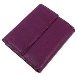 Fendi-Fendi Purple Bifold Wallet-Purple