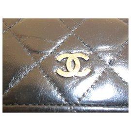 Chanel-Porte feuille  monnaie   Chanel-Noir