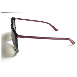 Gucci-gucci 3676s lunettes de soleil-Multicolore