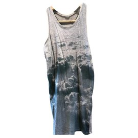 Stella Mc Cartney-Tank Dress-Grey