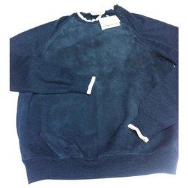 Hermès-Hermes sweatshirt-Navy blue