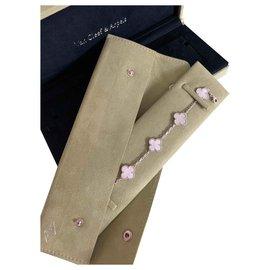 Van Cleef & Arpels-Bracelet vintage Alhambra-Blanc