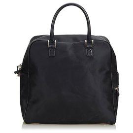 Burberry-Burberry Black Nylon Briefcase-Black