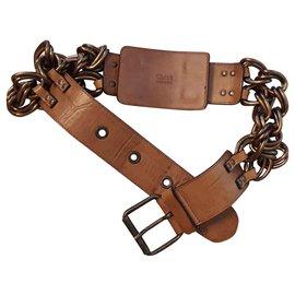 Chloé-Belts-Golden
