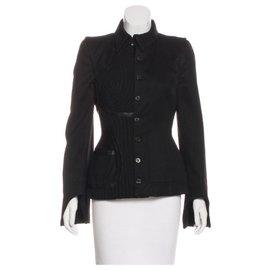 Alexander Mcqueen-Alexander Mcqueen jacket !! Stunning Unique-Black