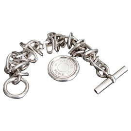 Hermès-Tintamarre Saddle Nail-Silvery