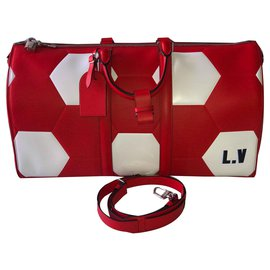 Louis Vuitton-Keepall 50-Rouge