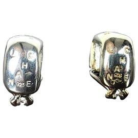 Chanel-Earrings Chanel-Silvery