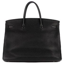 Hermès-Birkin 40-Noir