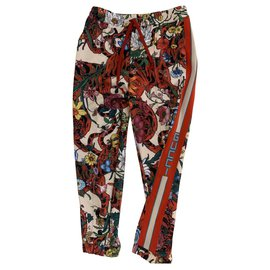 Gucci-tailleur pantalon-Multicolore
